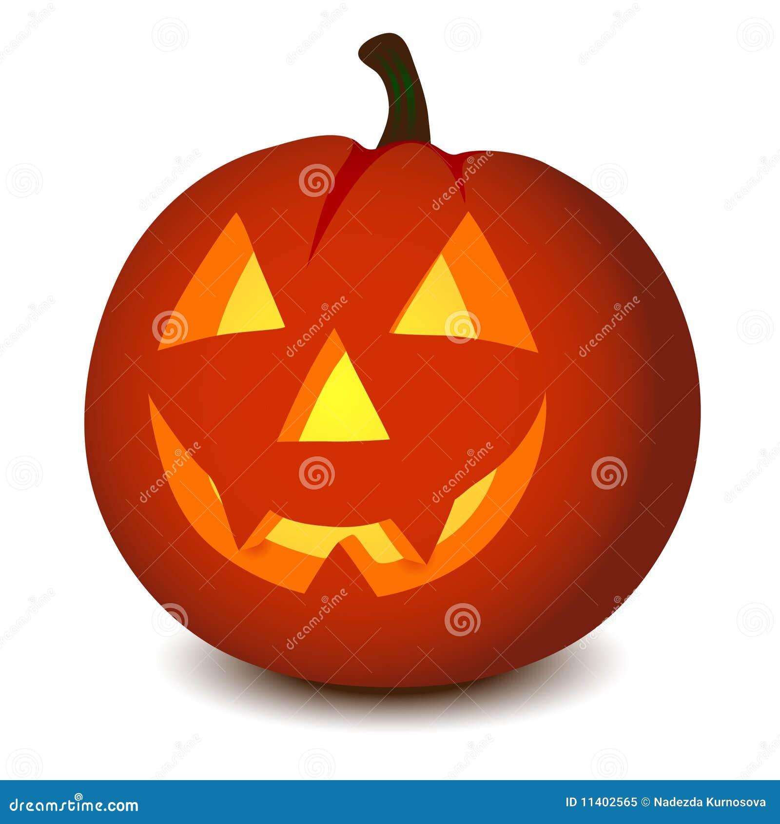 Zucca Di Halloween Di Vettore Illustrazione Vettoriale ... aa85bd16b21f