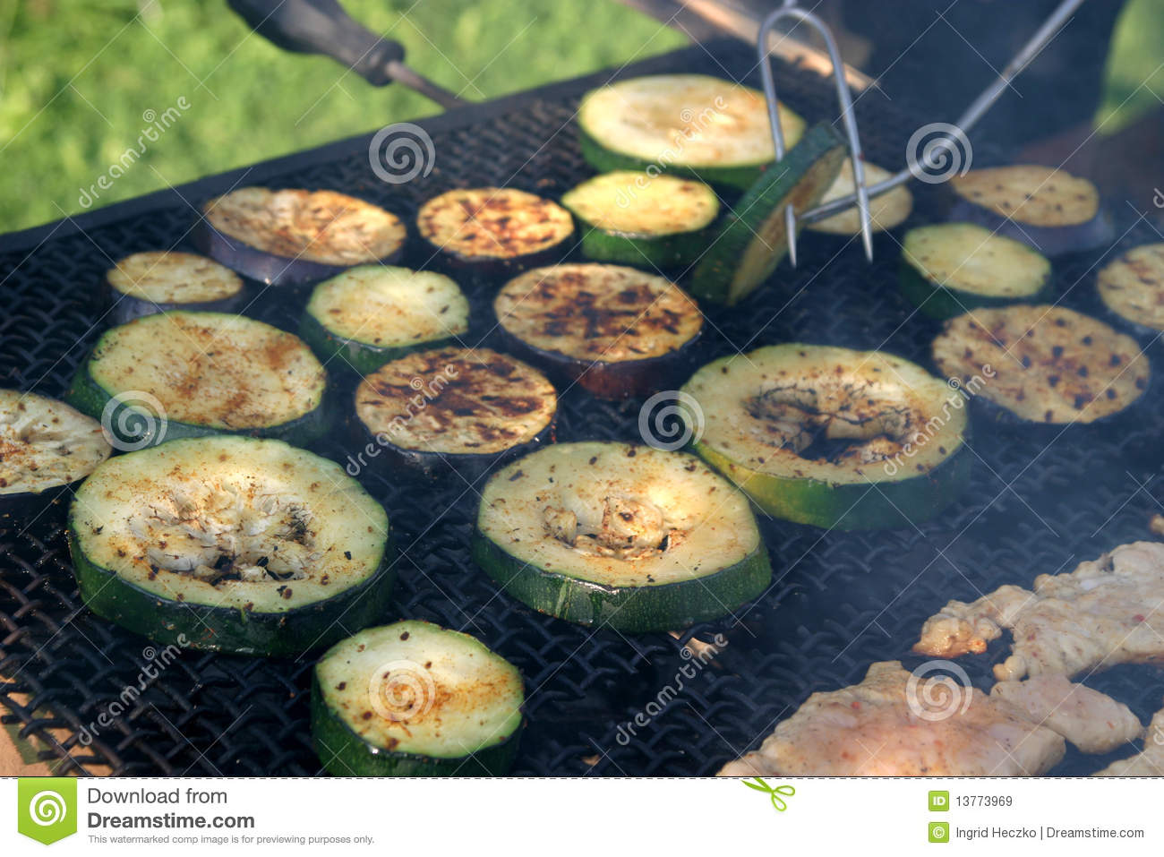 how to cook eggplant on barbecue