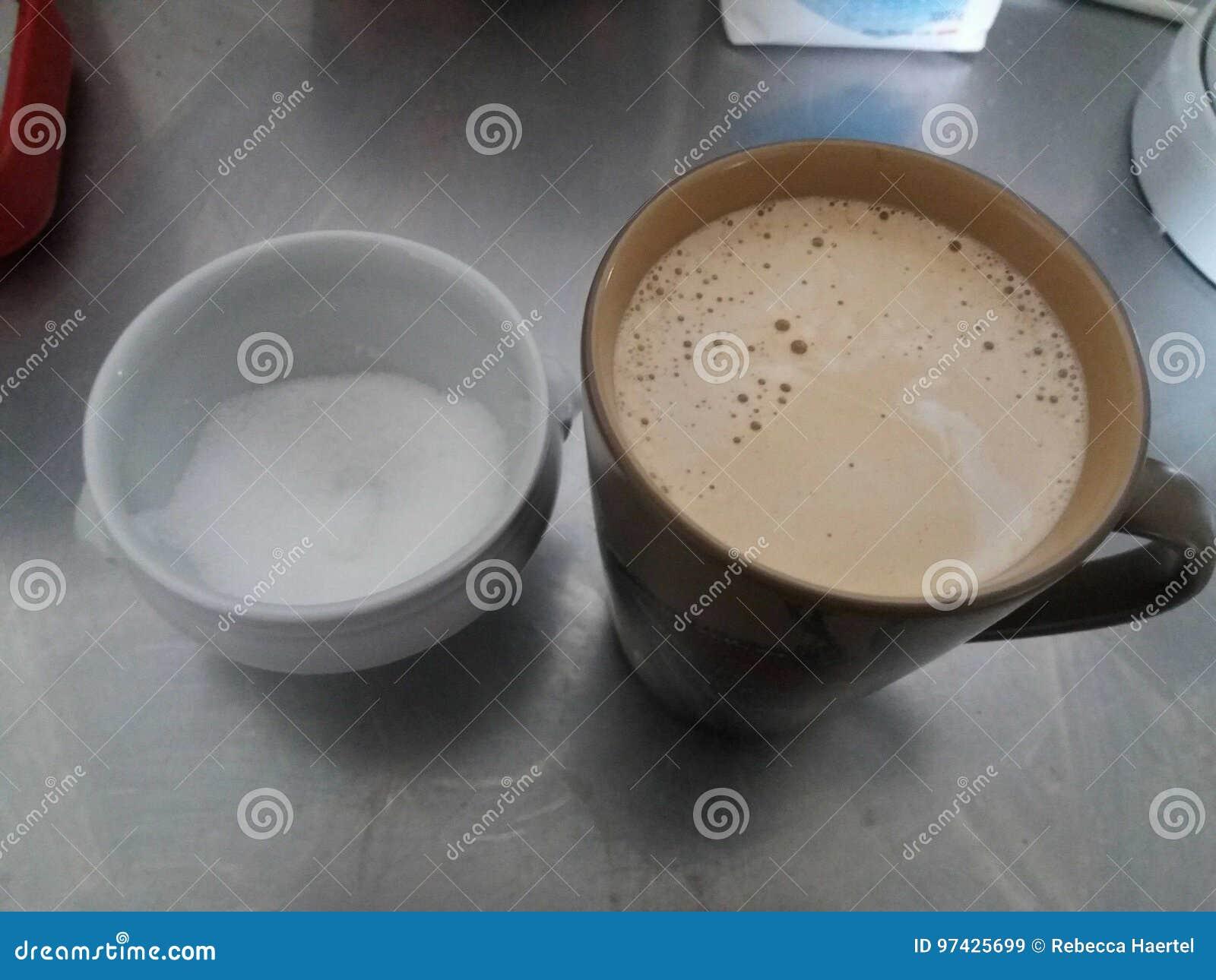 Zucker und Kaffee