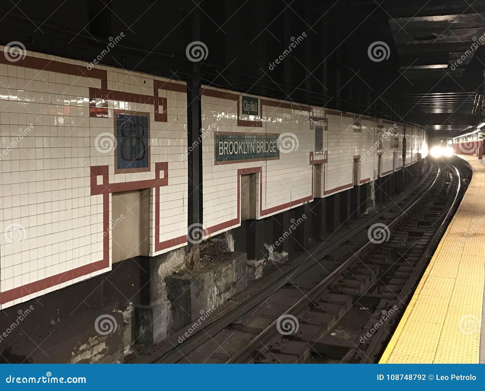 Zug-New- Yorku-bahn