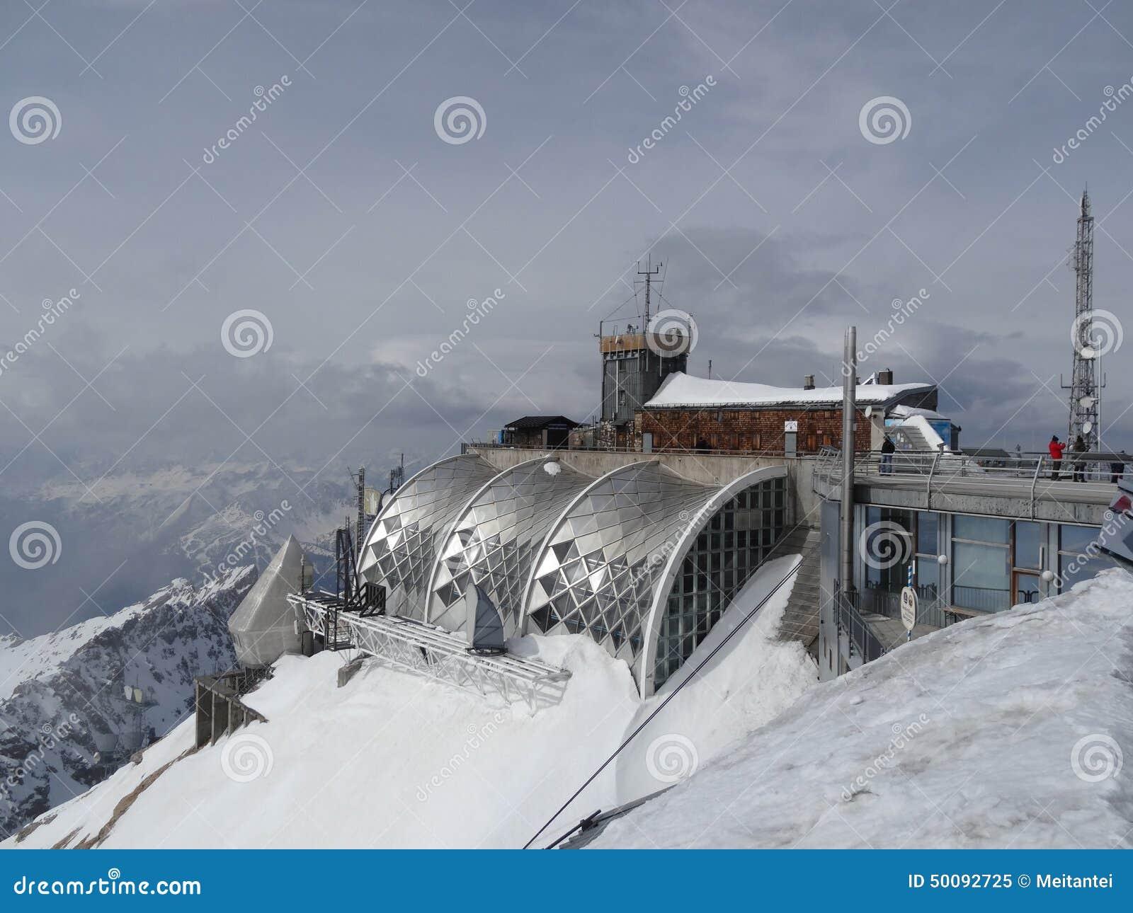 Zugspitze Muenchner Haus Editorial Image Image