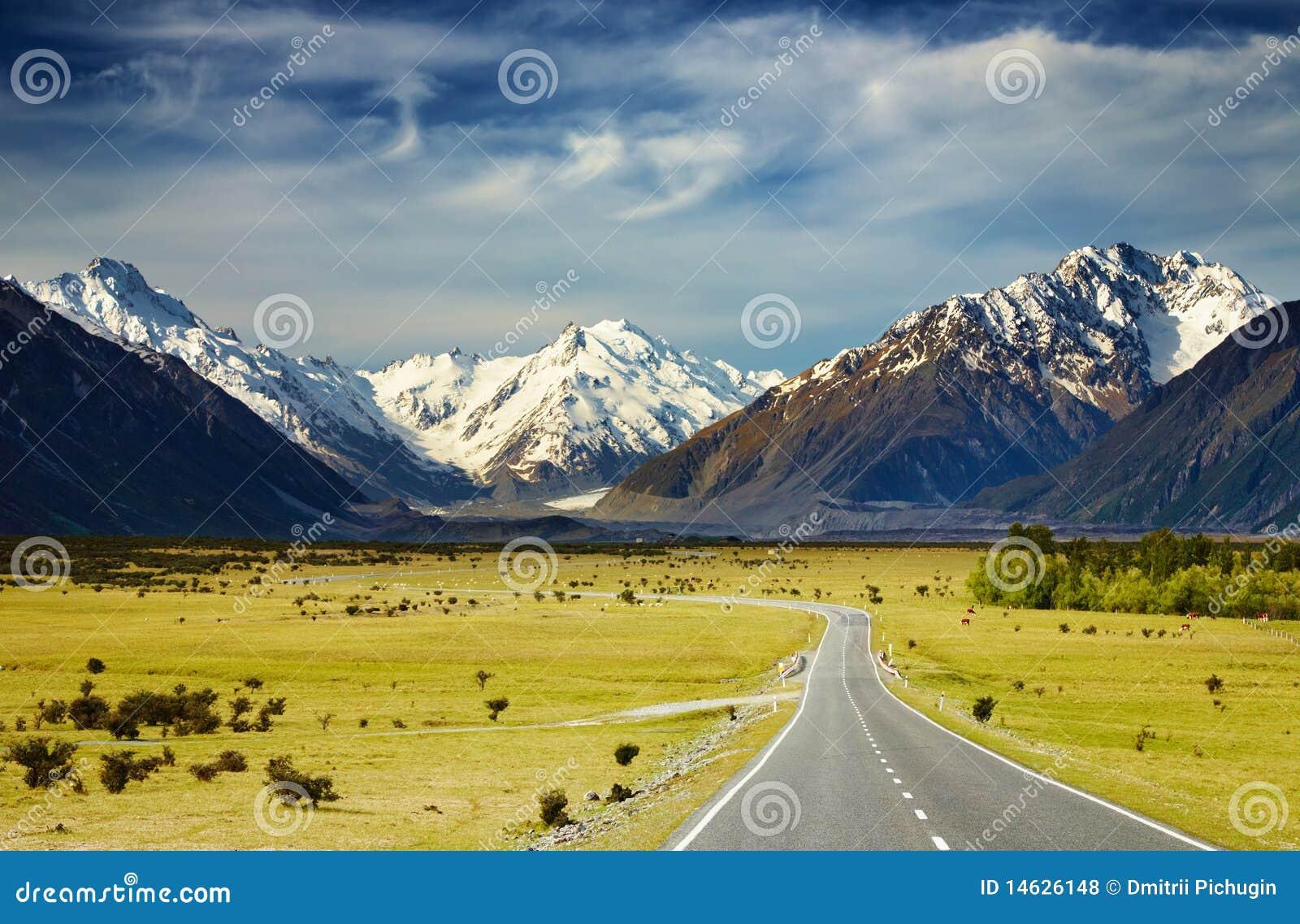 Zuidelijke Alpen, Nieuw Zeeland