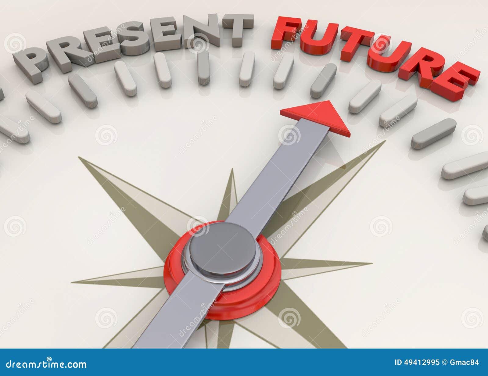 Download Zukünftige Richtung - 3D stock abbildung. Illustration von geschenk - 49412995