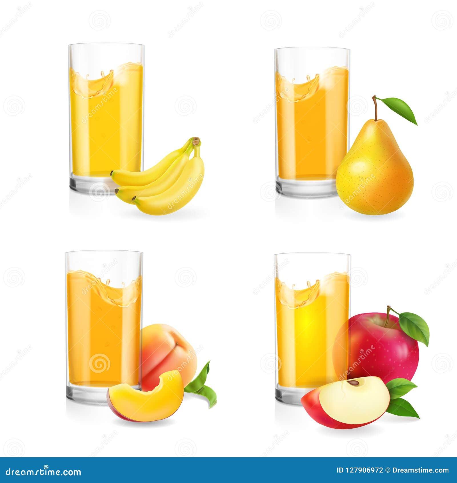 zumo de pera y manzana