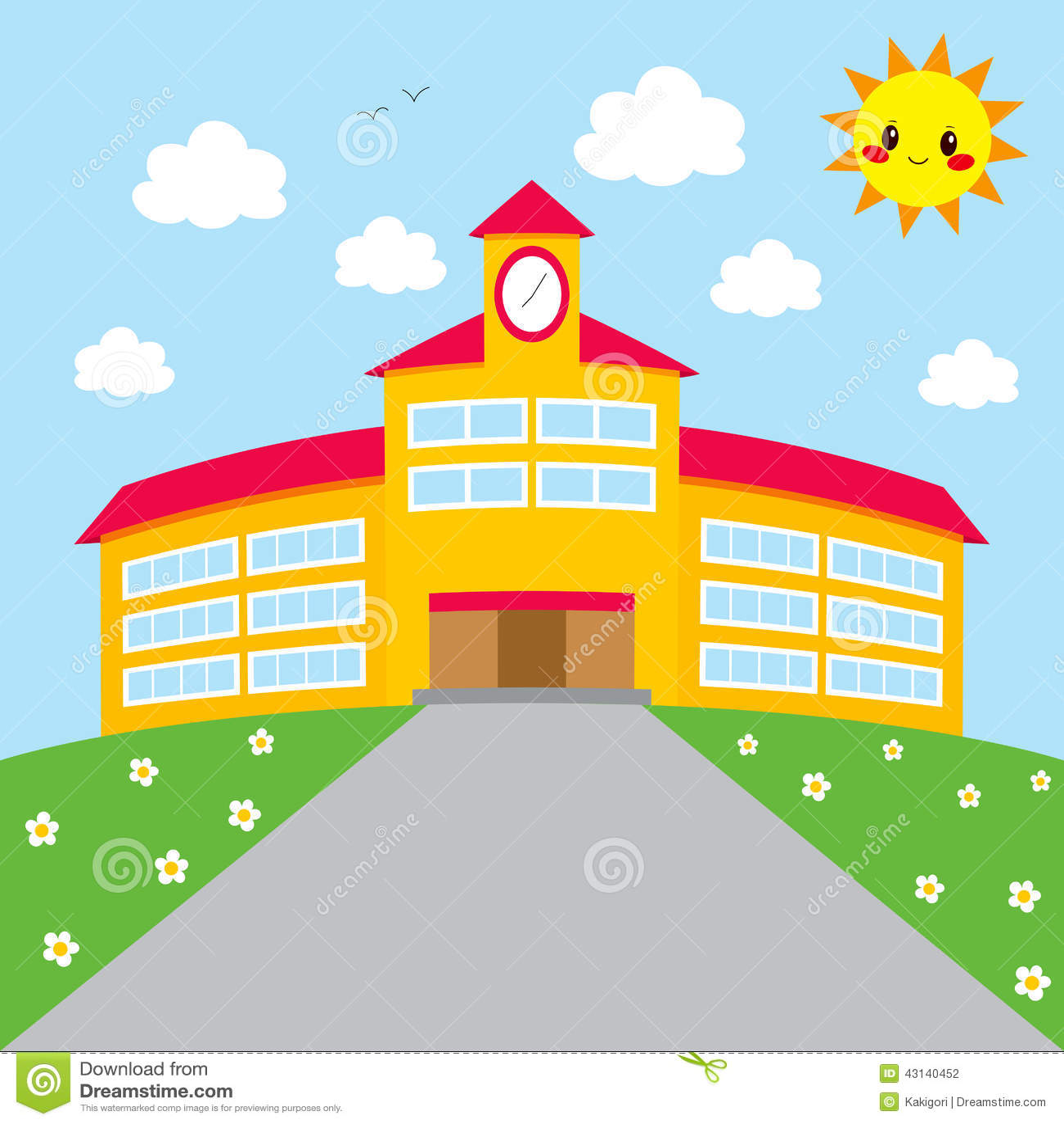 Zurück zu Schulgebäude