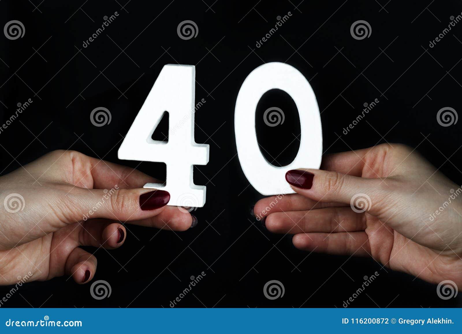 Zur Frau übergibt die Nr. vierzig