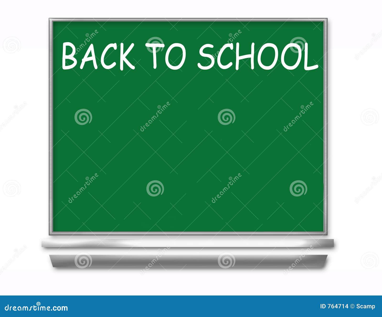 Zur u00fcck Zu Schule Tafel   Kinder Stockbilder   Bild  764714
