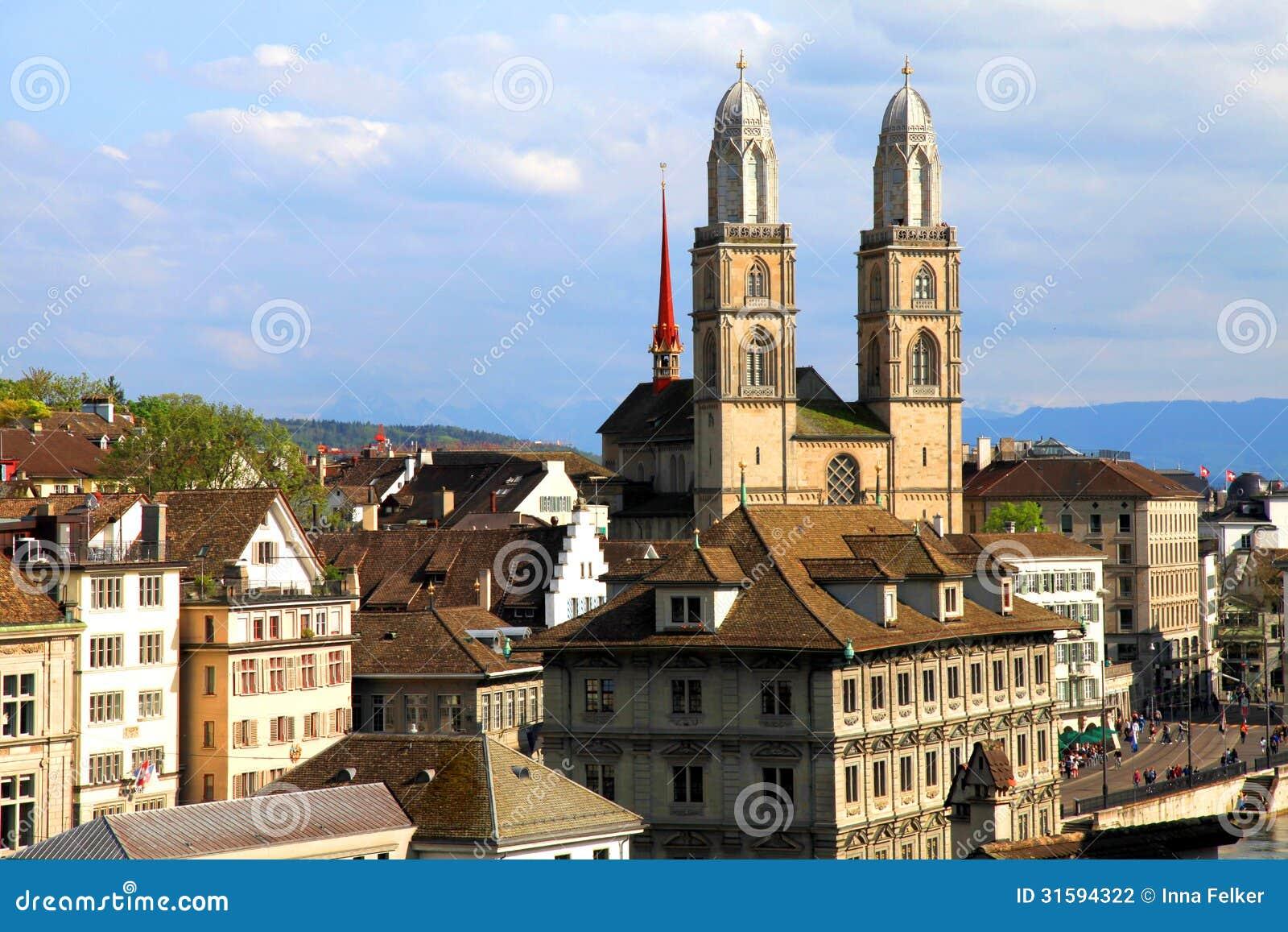 Zurich Grossmunster, Suisse