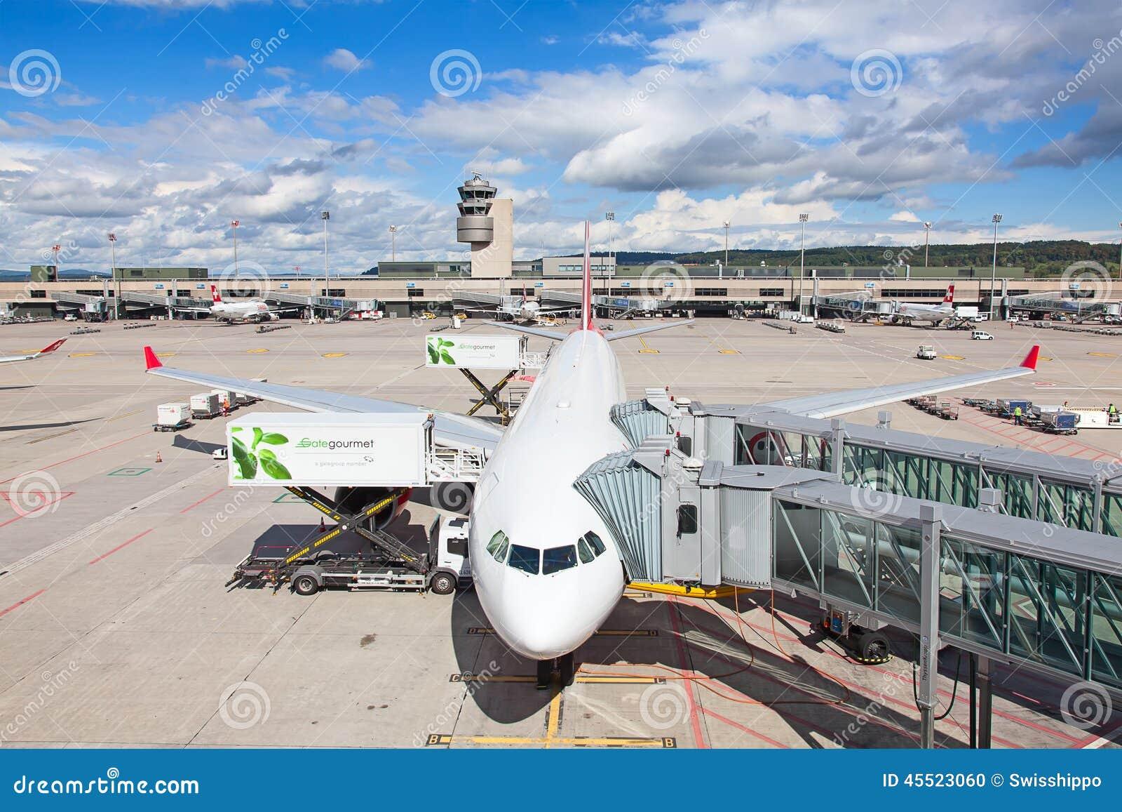Zurich lotnisko