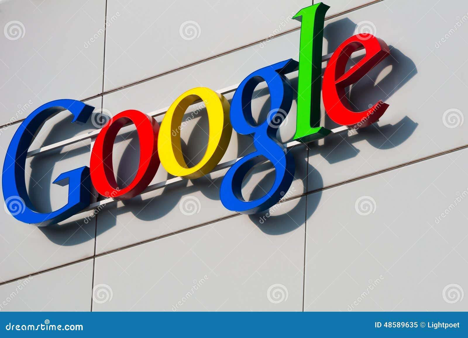 ZURICH, SZWAJCARIA, Google Korporacja Recepta
