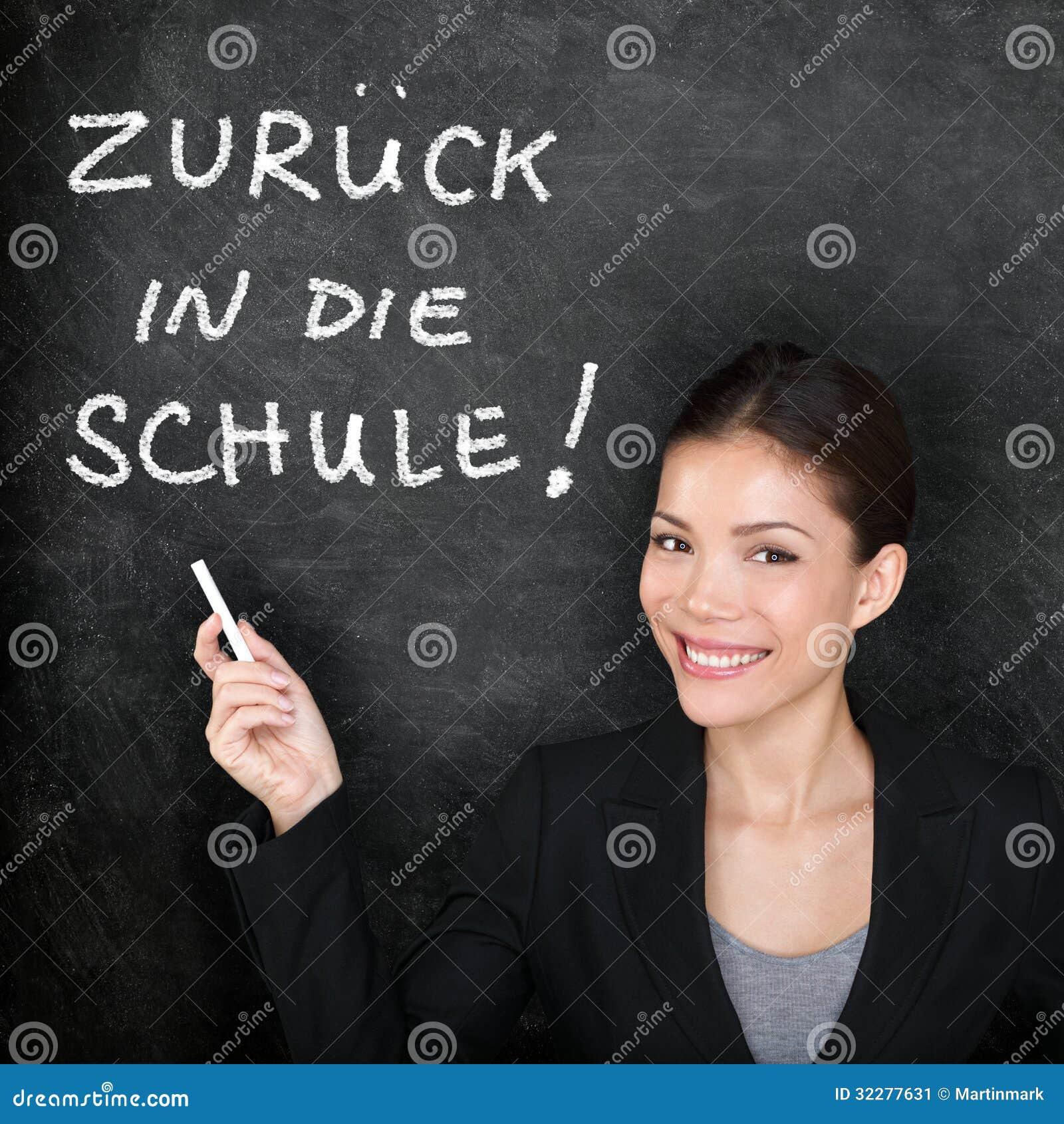 Zuruck In English