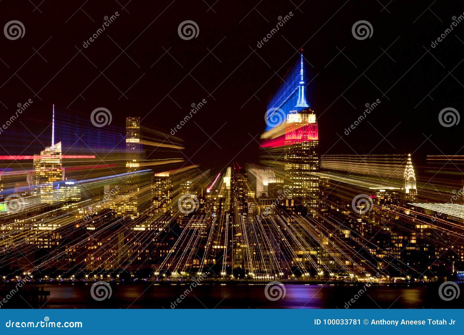 Zusammenfassung von New- York Cityskylinen