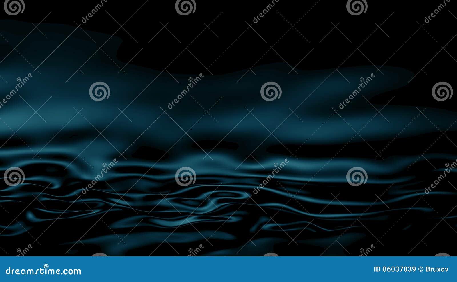 Zusammenfassungs-Türkis-Hintergrund der Illustrations-3D