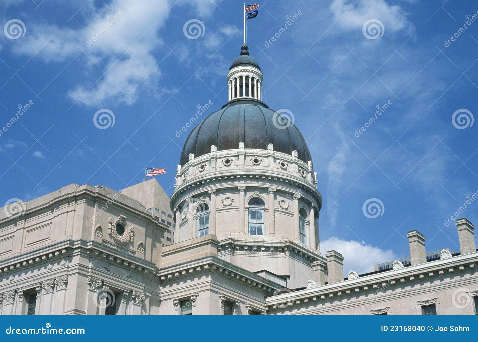 Zustand-Kapitol von Indiana