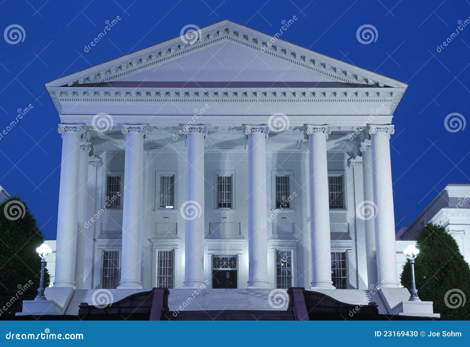 Zustand-Kapitol von Virginia