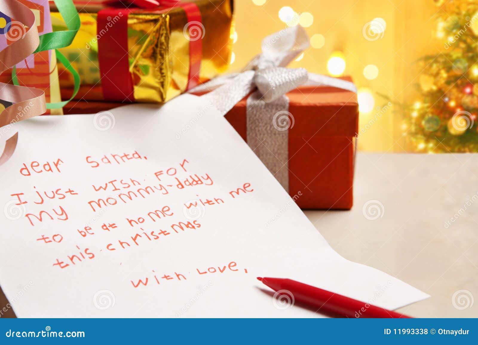 zutreffender wunsch des kindes auf weihnachten stockfoto bild 11993338. Black Bedroom Furniture Sets. Home Design Ideas