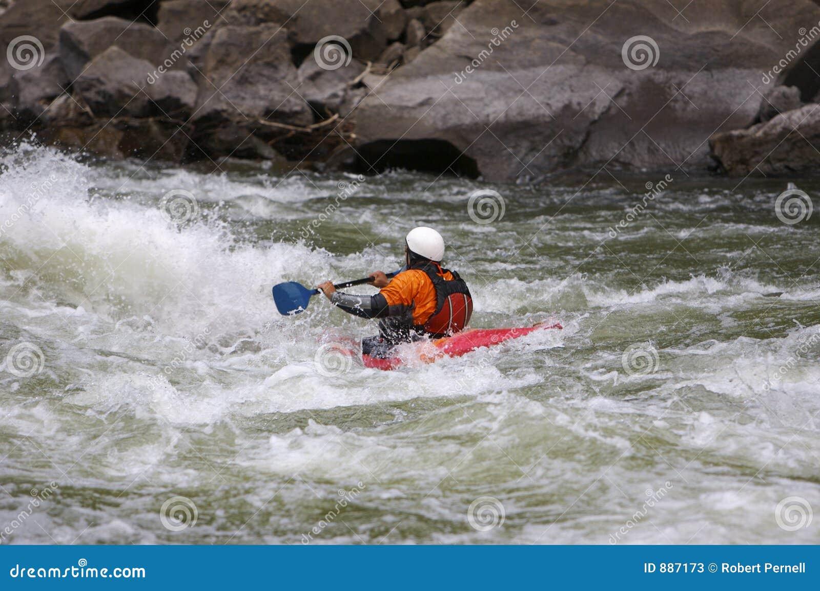 Zwalczanie przemocy kayaker