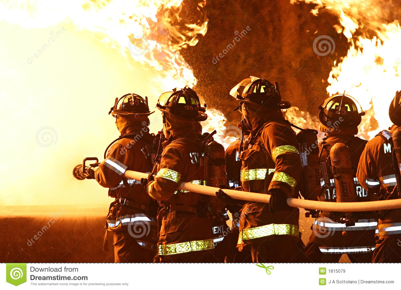 Zwalczanie strażaków płomieni