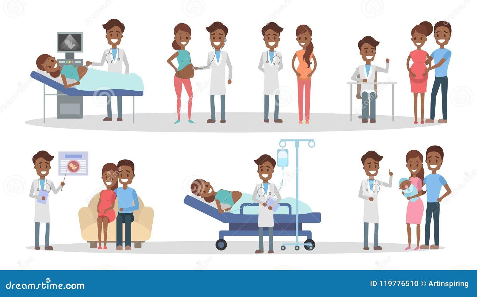 Zwangerschap bij kliniek