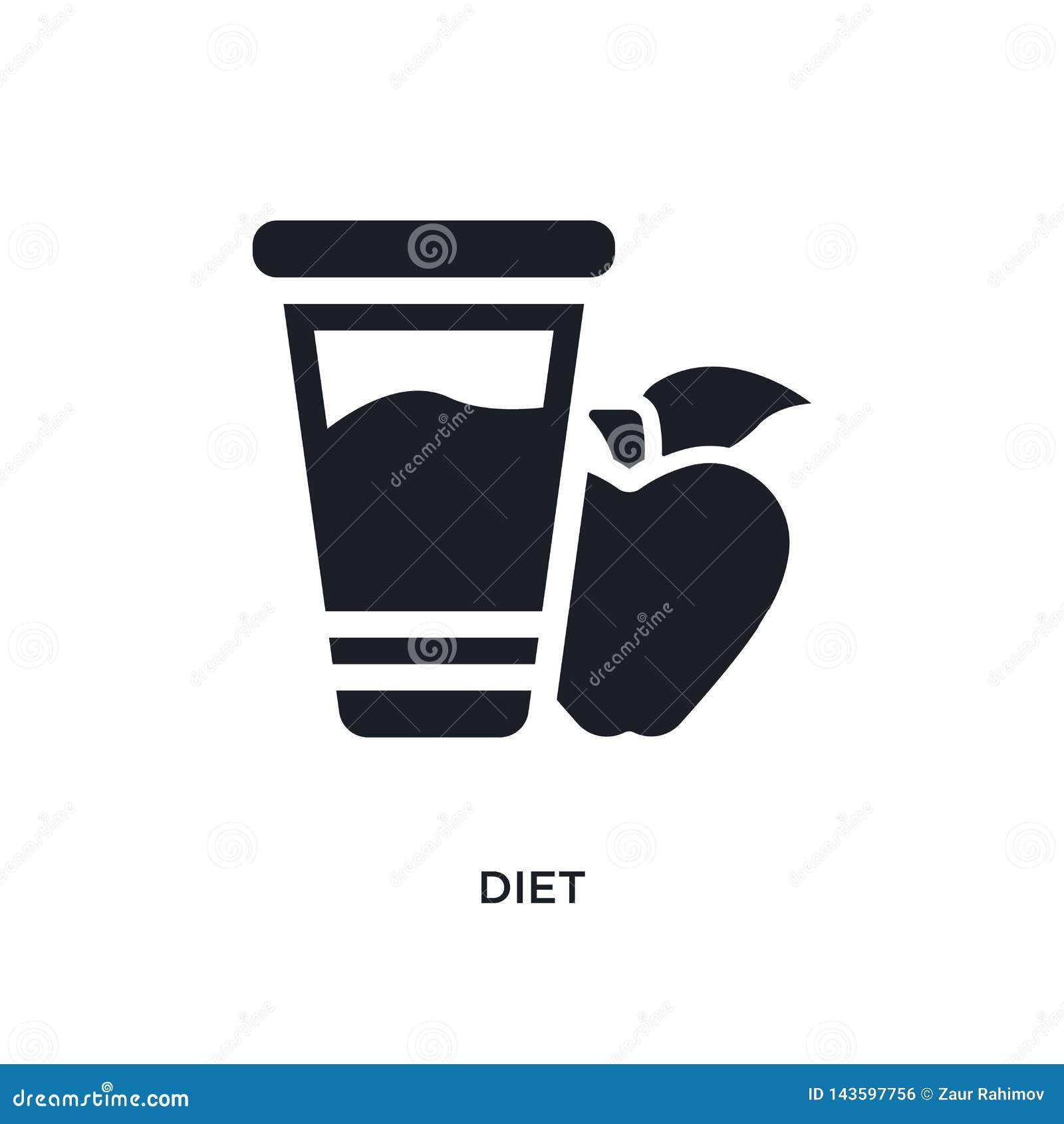 Zwart dieet geïsoleerd vectorpictogram eenvoudige elementenillustratie van de vectorpictogrammen van het godsdienstconcept het sy