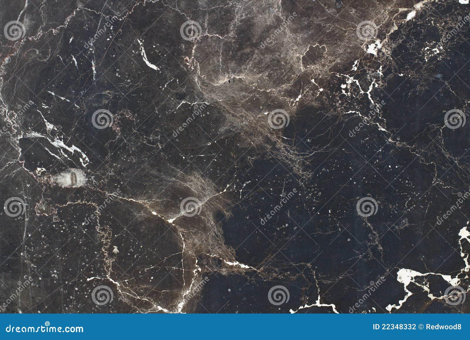 Zwart En Bruin Graniet Stock Fotografie - Afbeelding: 22348332