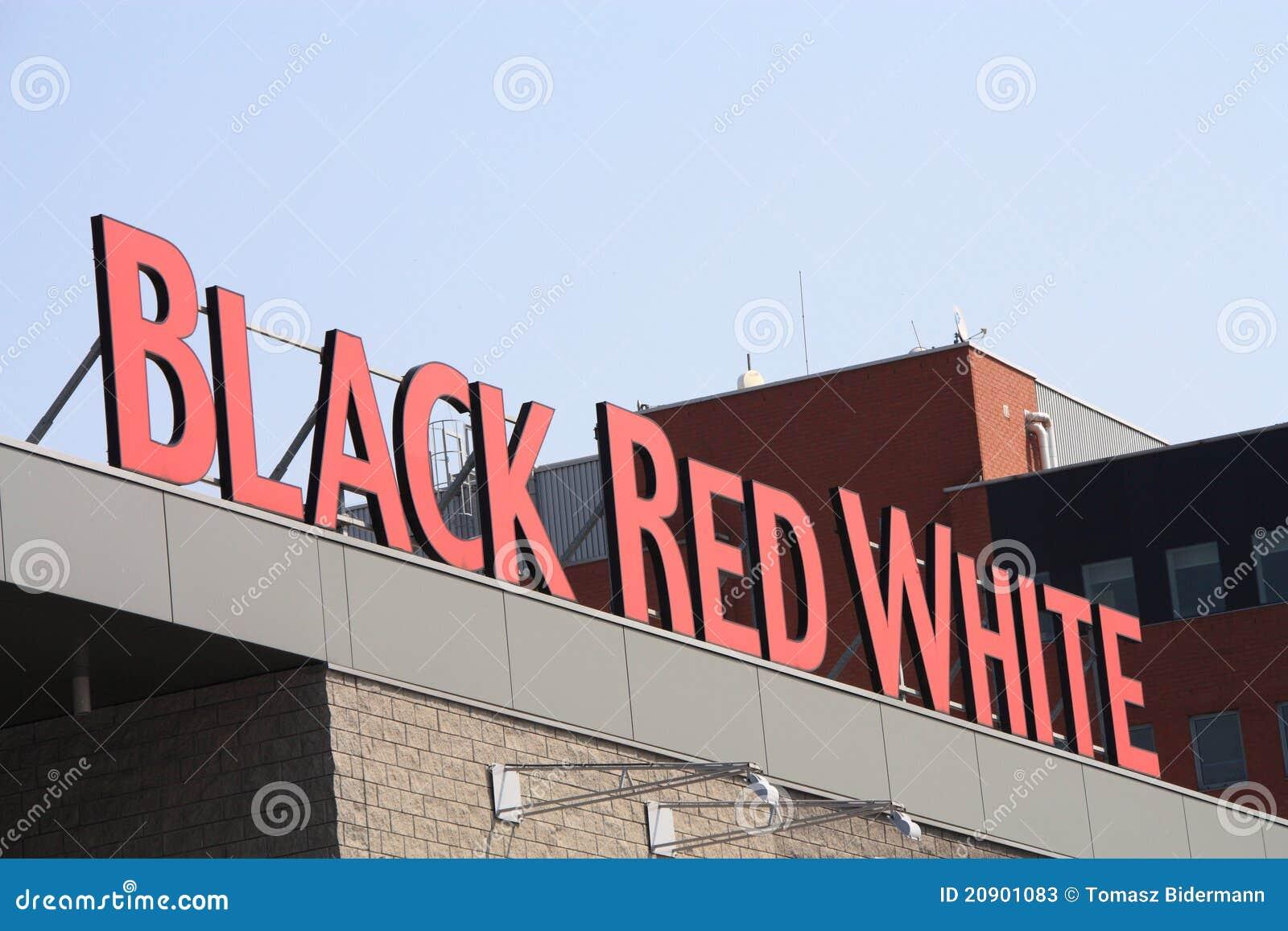 Slaapkamer Zwart Wit Rood : Zwart Rood Wit Redactionele Stock Foto ...
