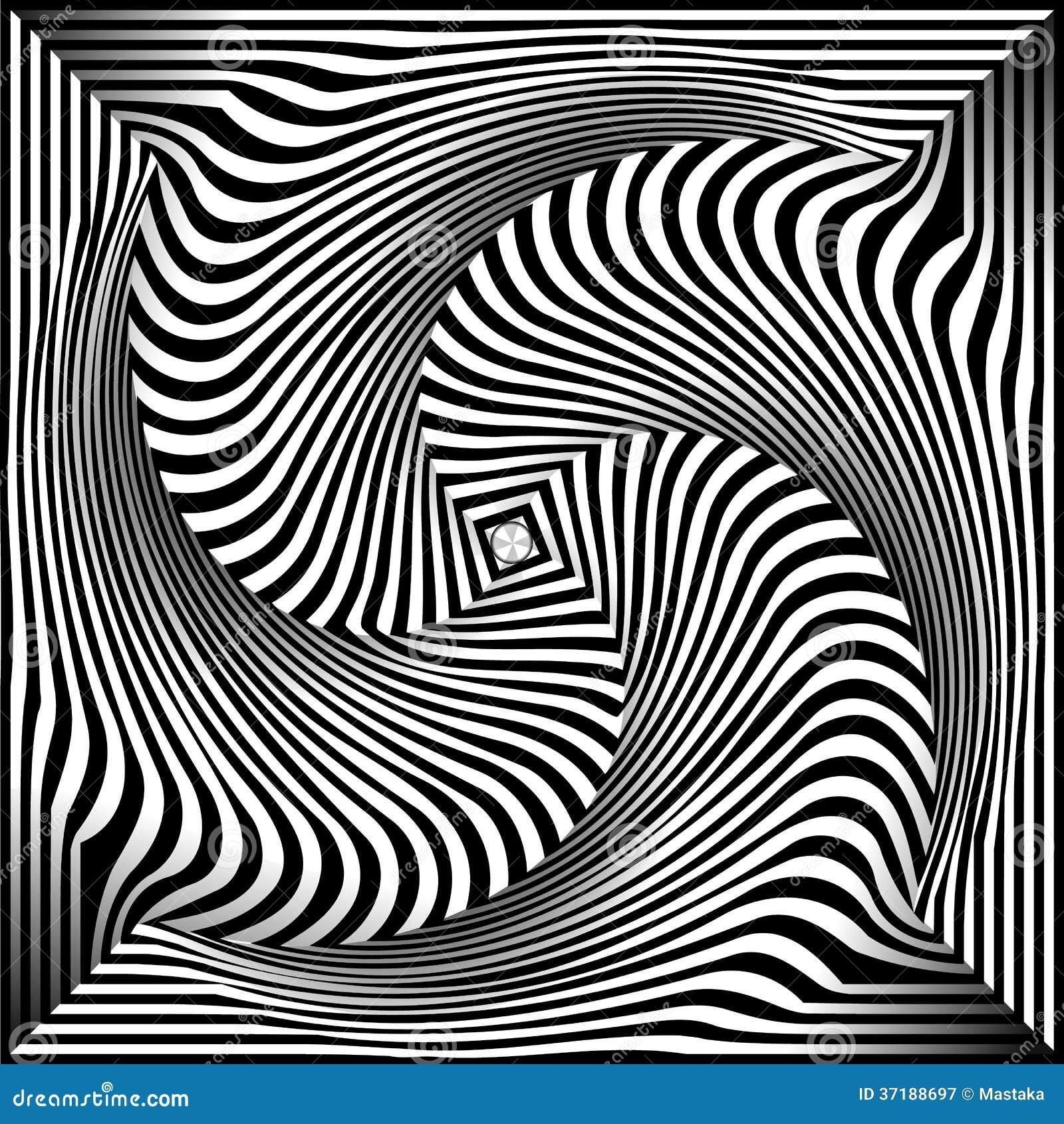 Uitzonderlijk Zwart-wit Opteer Art Background Vector Illustratie - Illustratie @VZ04