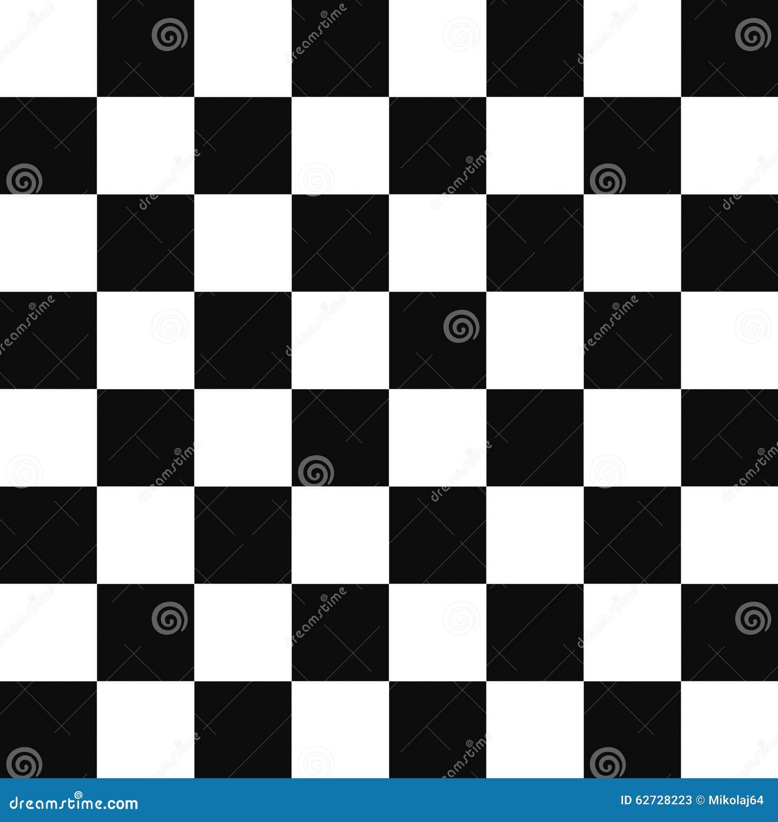 Zwart-wit Vierkanten Geruit Patroon Stock Illustratie ...