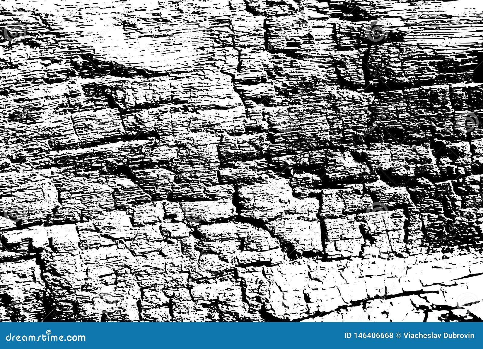 Zwart-witte brand gebrande houten textuur Houten oppervlakte gevonden achtergrond Doorstane natuurlijke textuur
