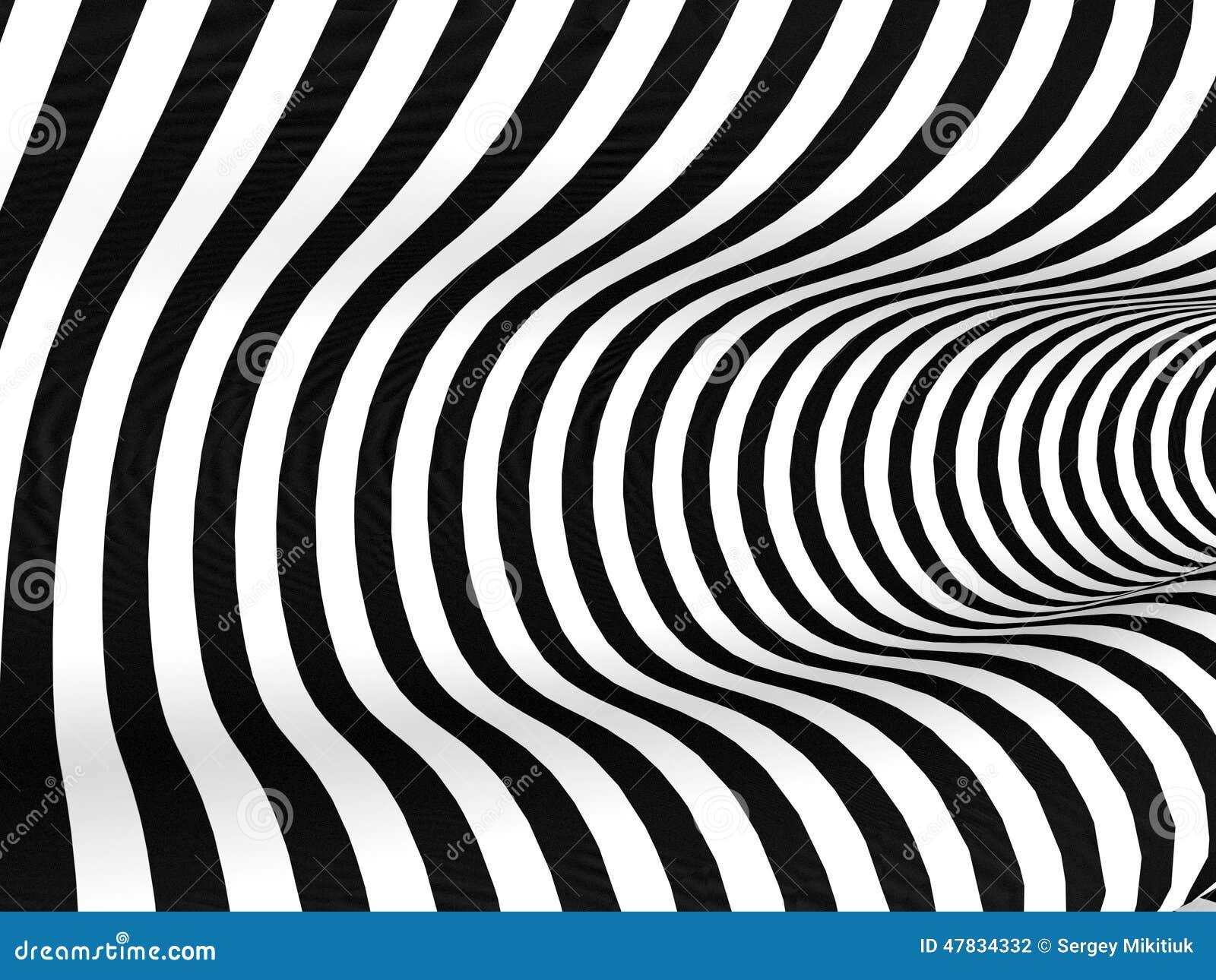 Zwart witte strepen abstracte achtergrond stock illustratie ...