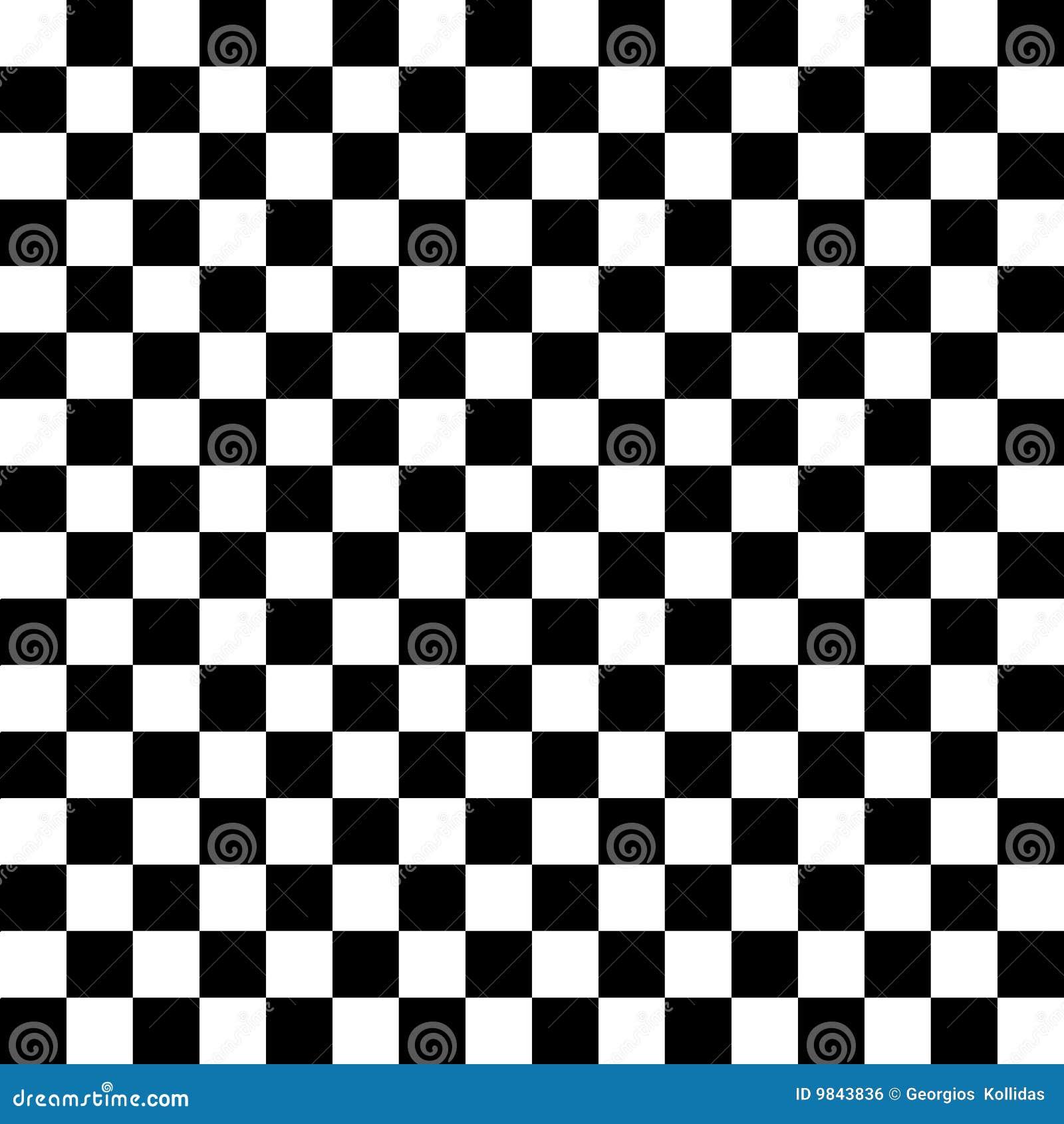 10 In Hexgon Floor Black And White