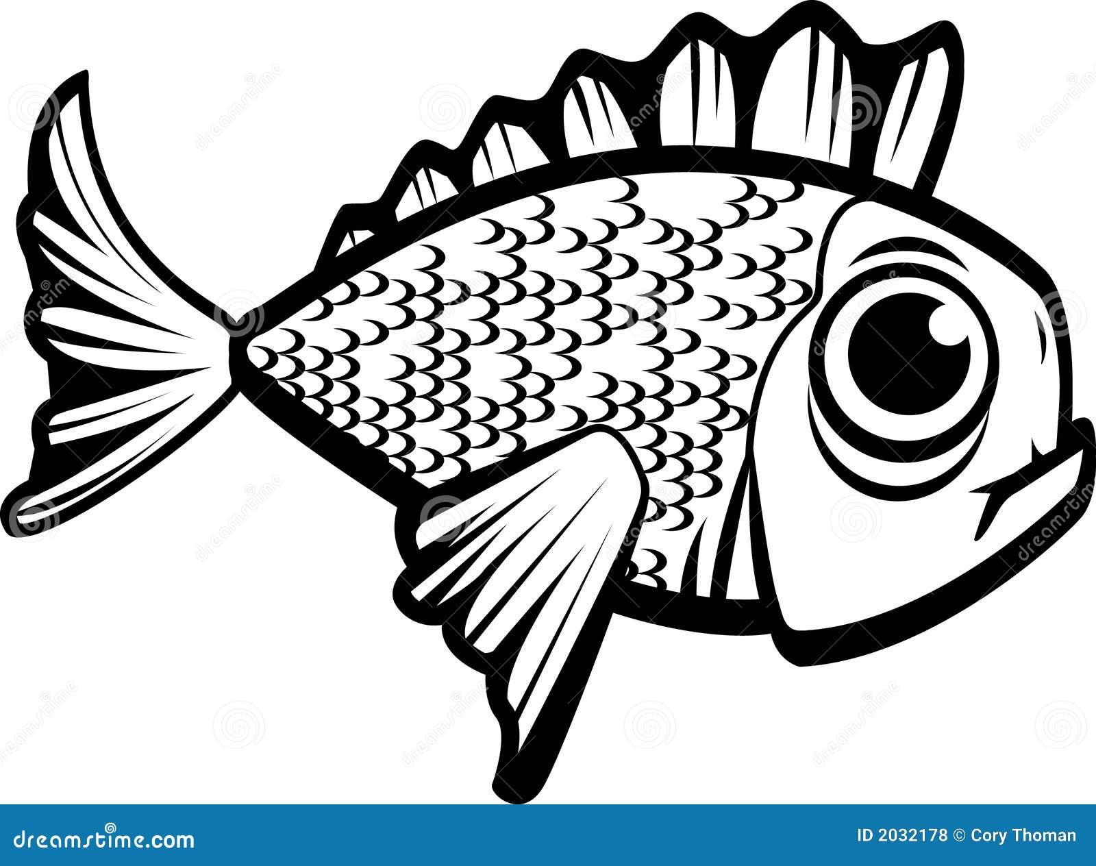 Zwart-witte vissen