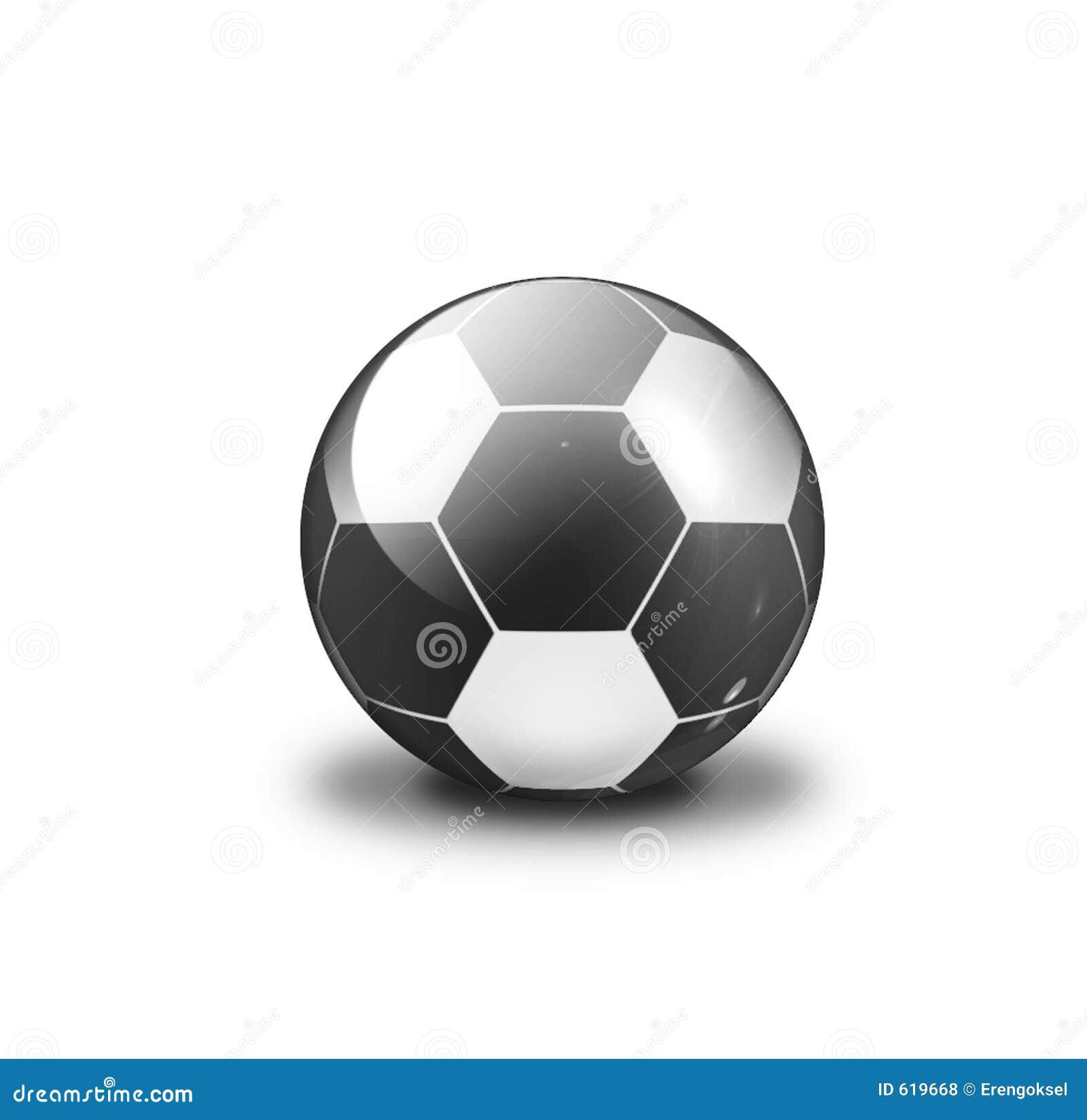 Zwarte & witte bal