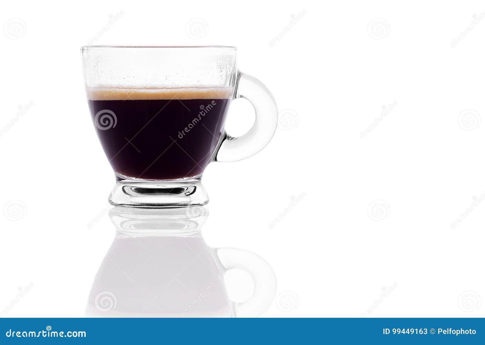 Zwarte koffieespresso