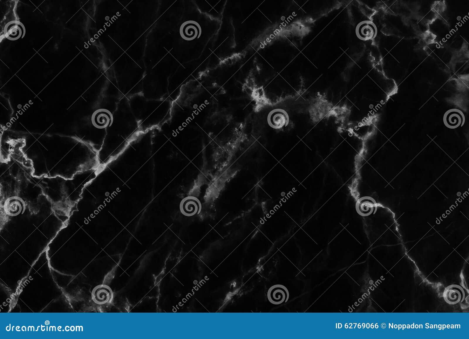 Zwarte marmeren die textuur in natuurlijk voor achtergrond en ontwerp wordt gevormd