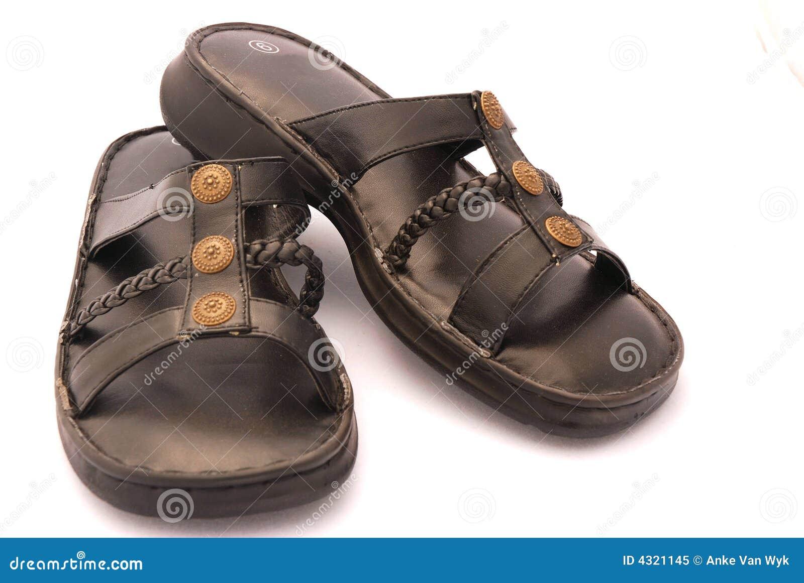 Zwarte sandals