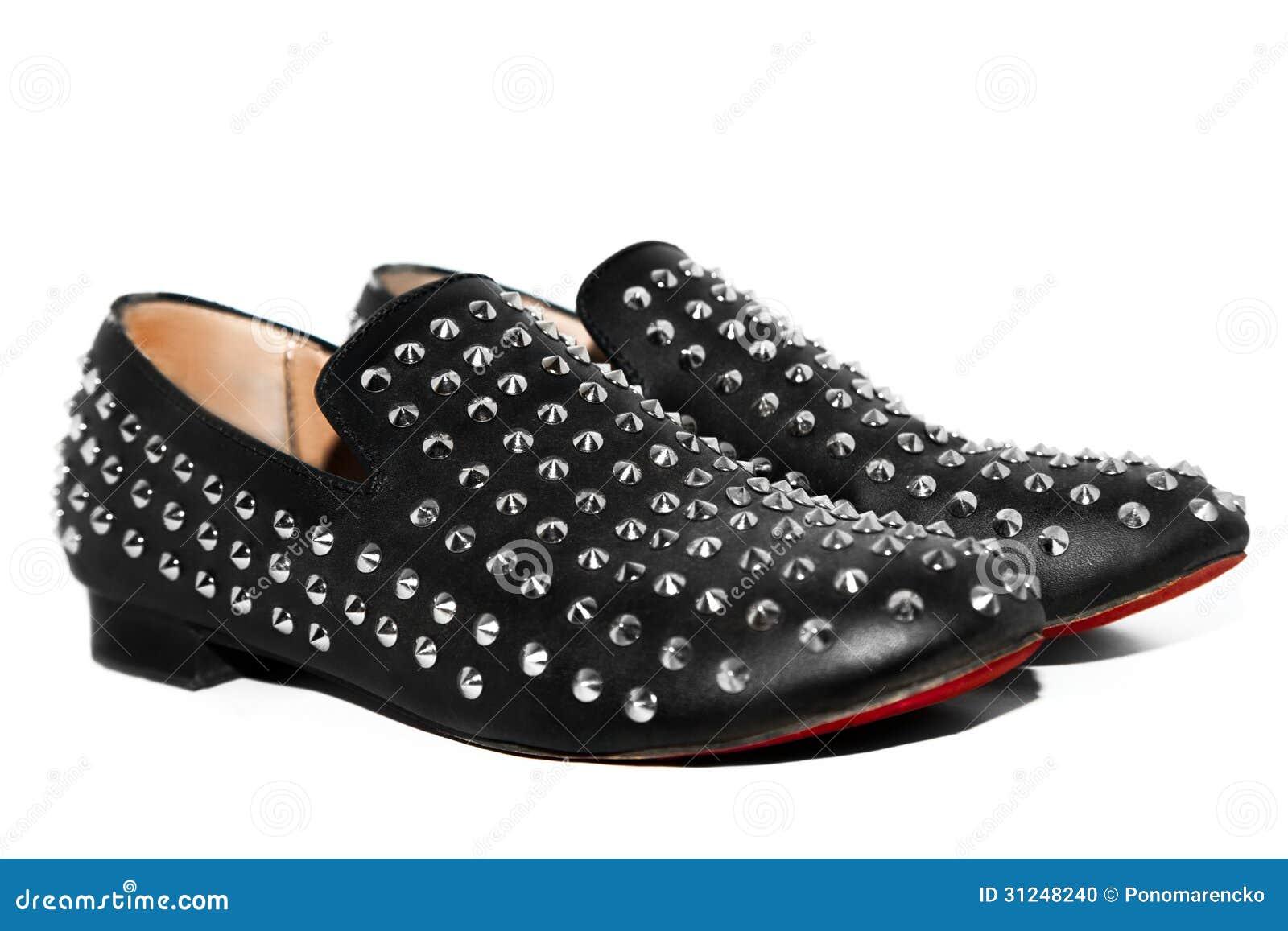 Zwarte schoenen met aren