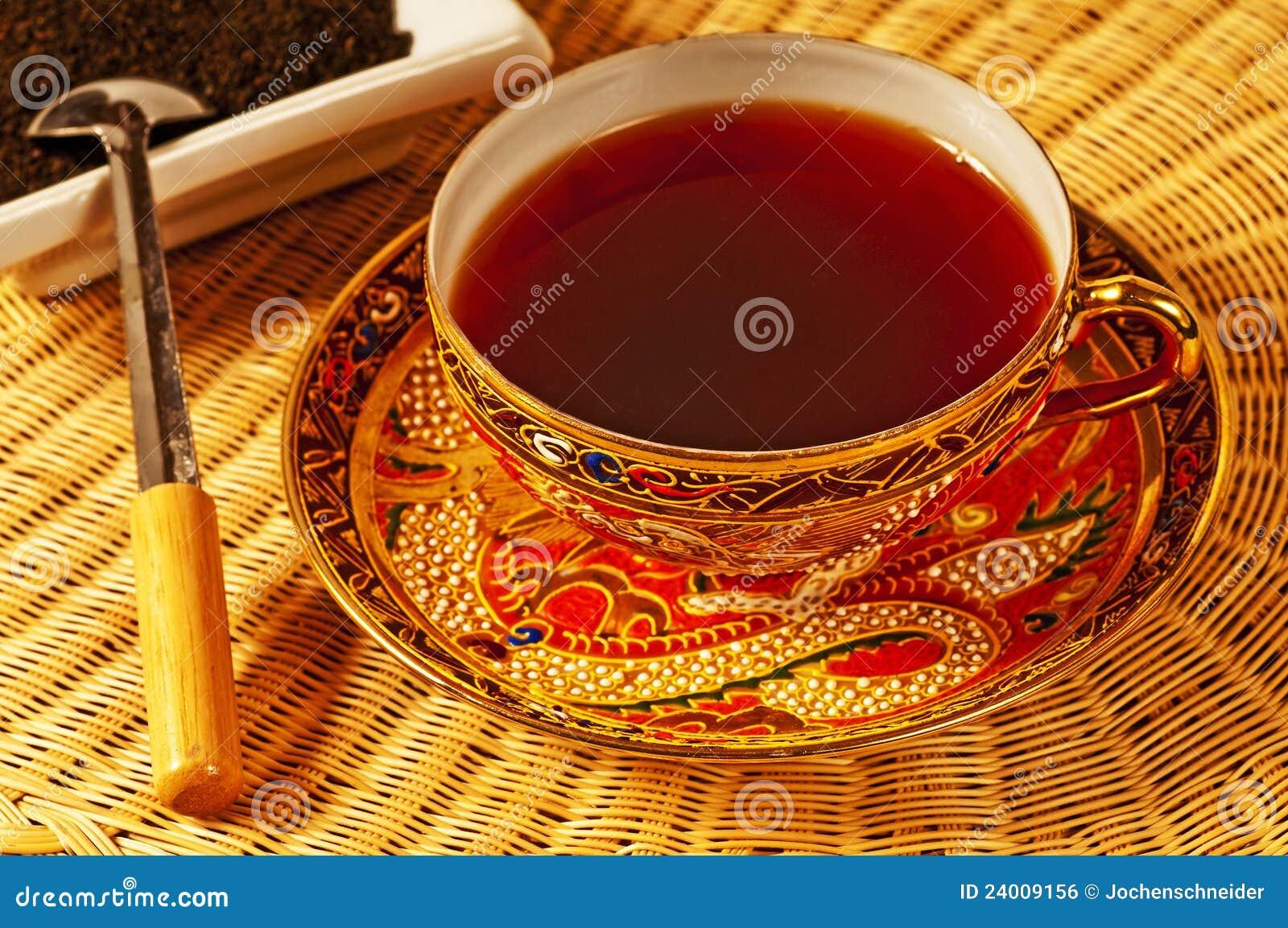 Zwarte thee van Ceylon