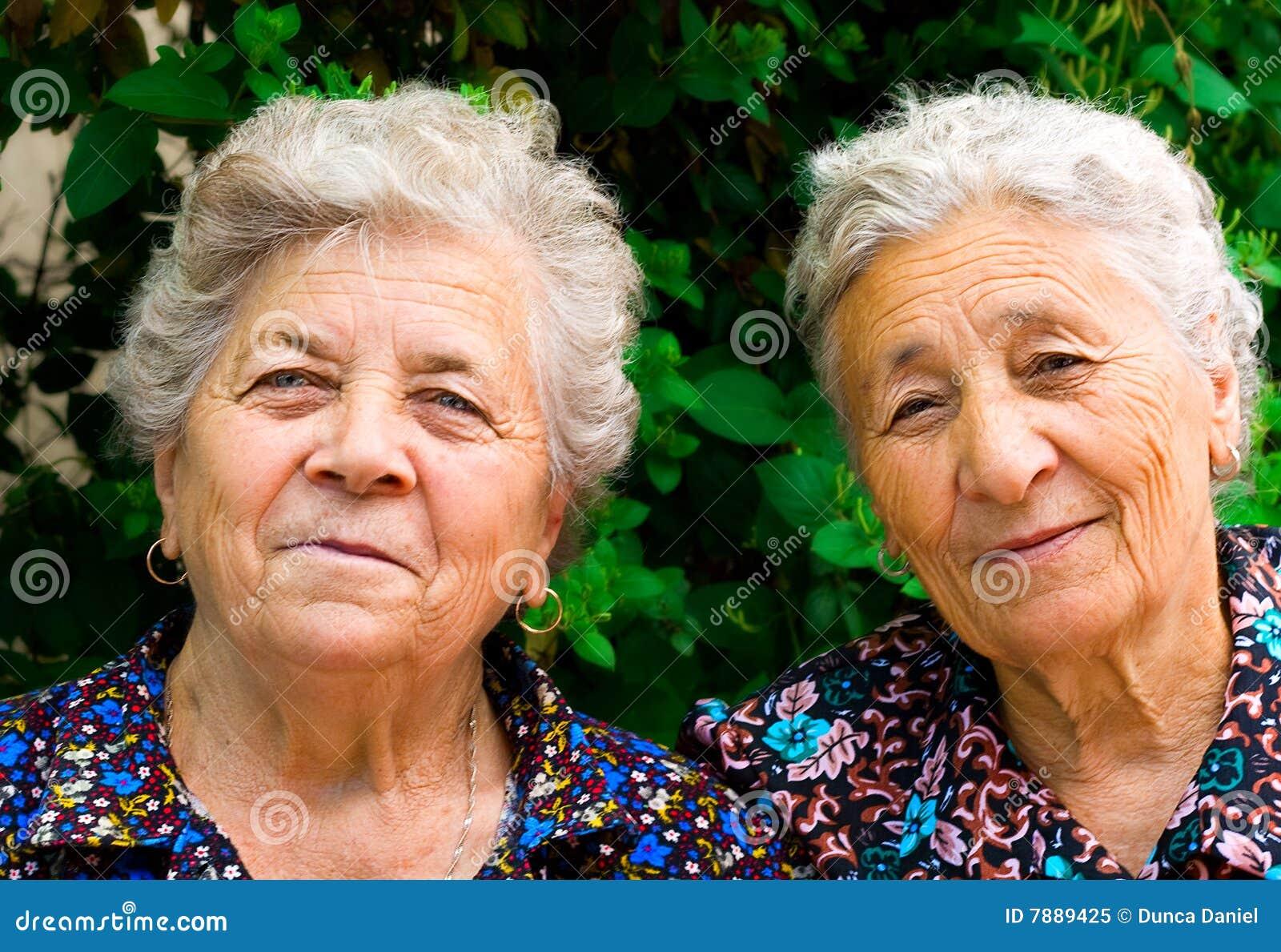 Alte Damen Bilder