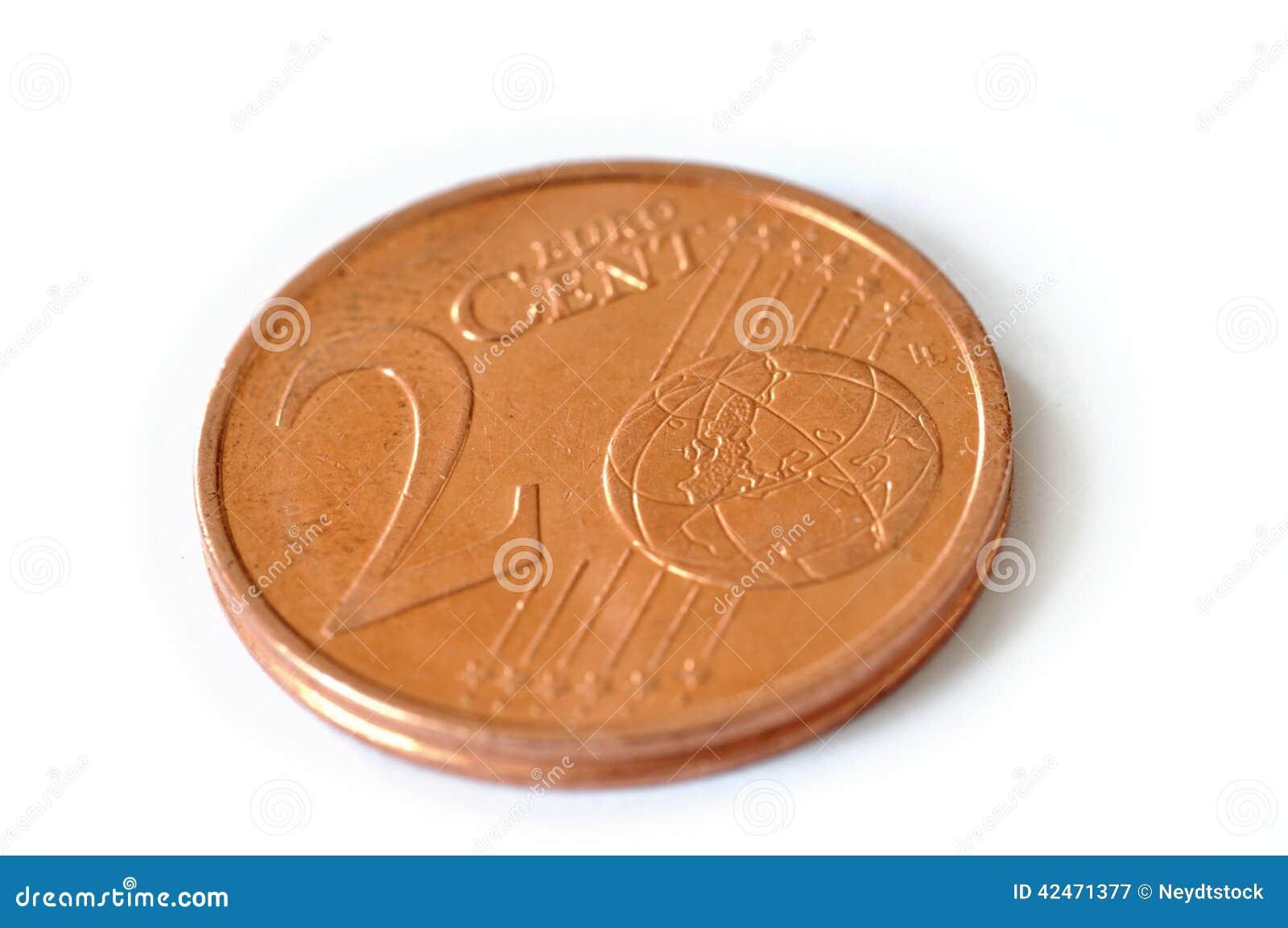Zwei Cents Euro
