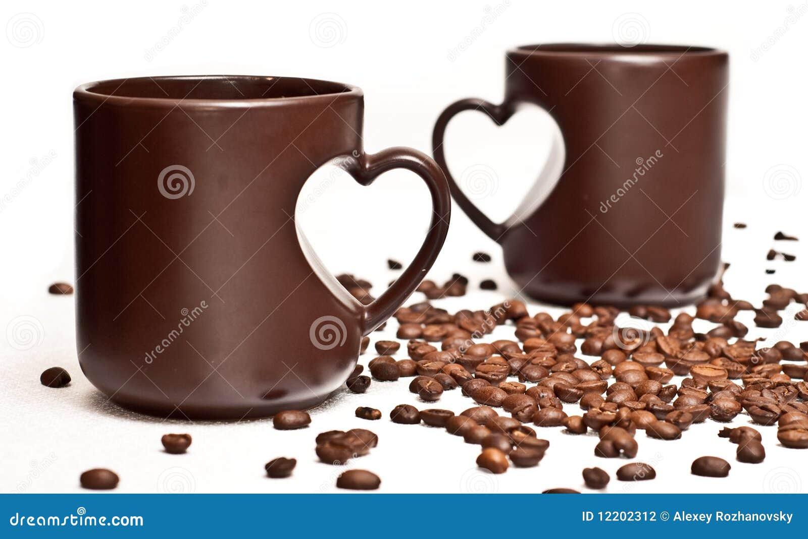 Zwei Cup und coffe