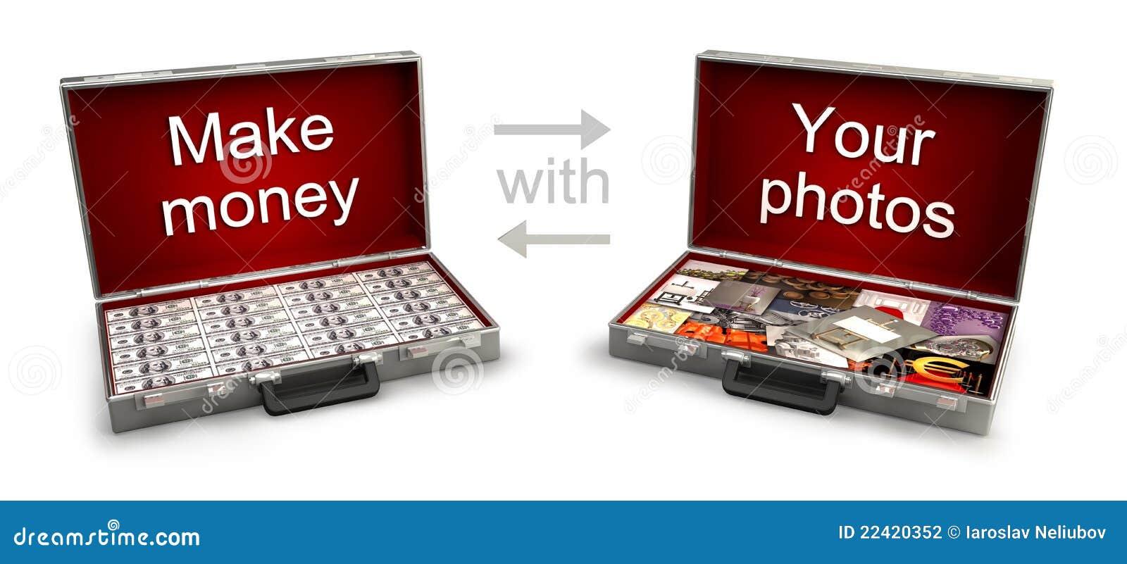 Zwei Fälle mit Geld und Fotos