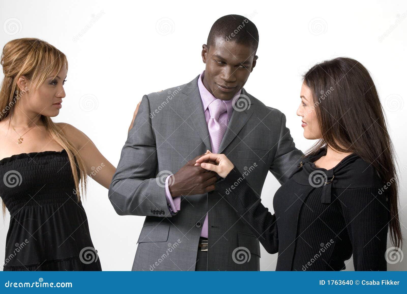 Zwei Frauen Und Ein Mann
