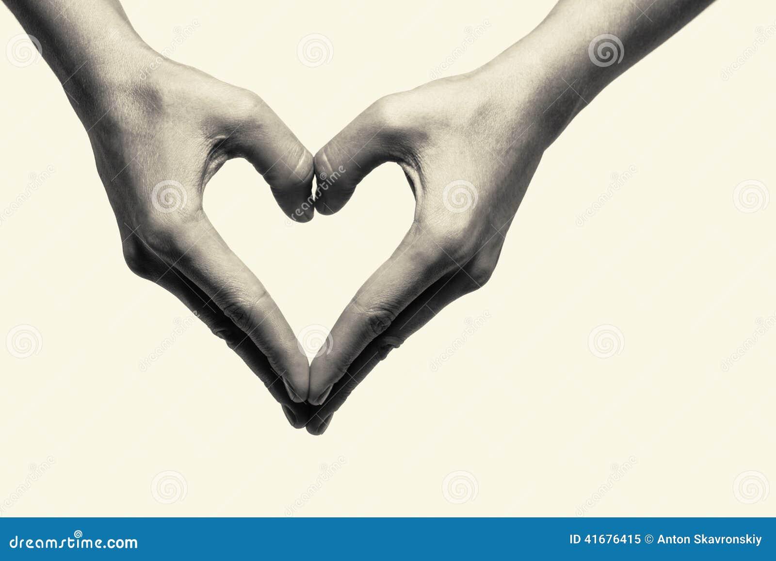 Zwei Hände - Liebe