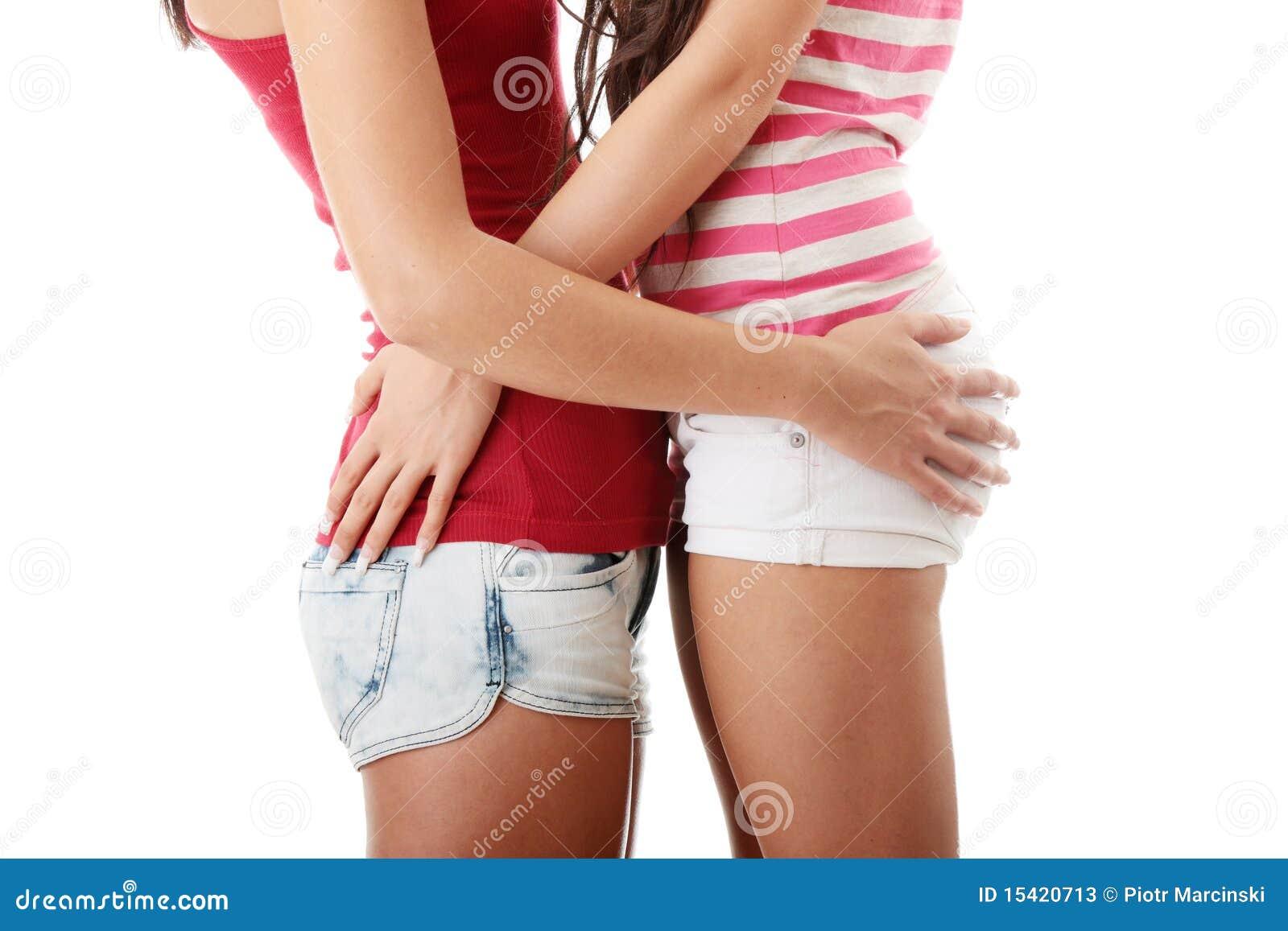 Zwei Lesbische Frauen Stockfotos - Bild: 15420713