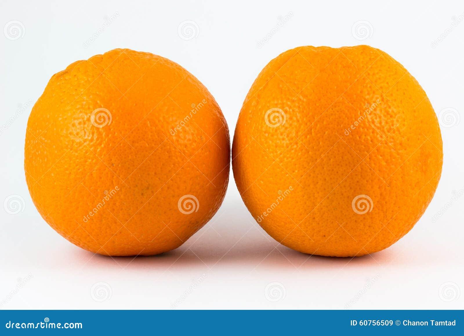 zwei orangen stockbild bild von sonderkommando nachtisch 60756509. Black Bedroom Furniture Sets. Home Design Ideas