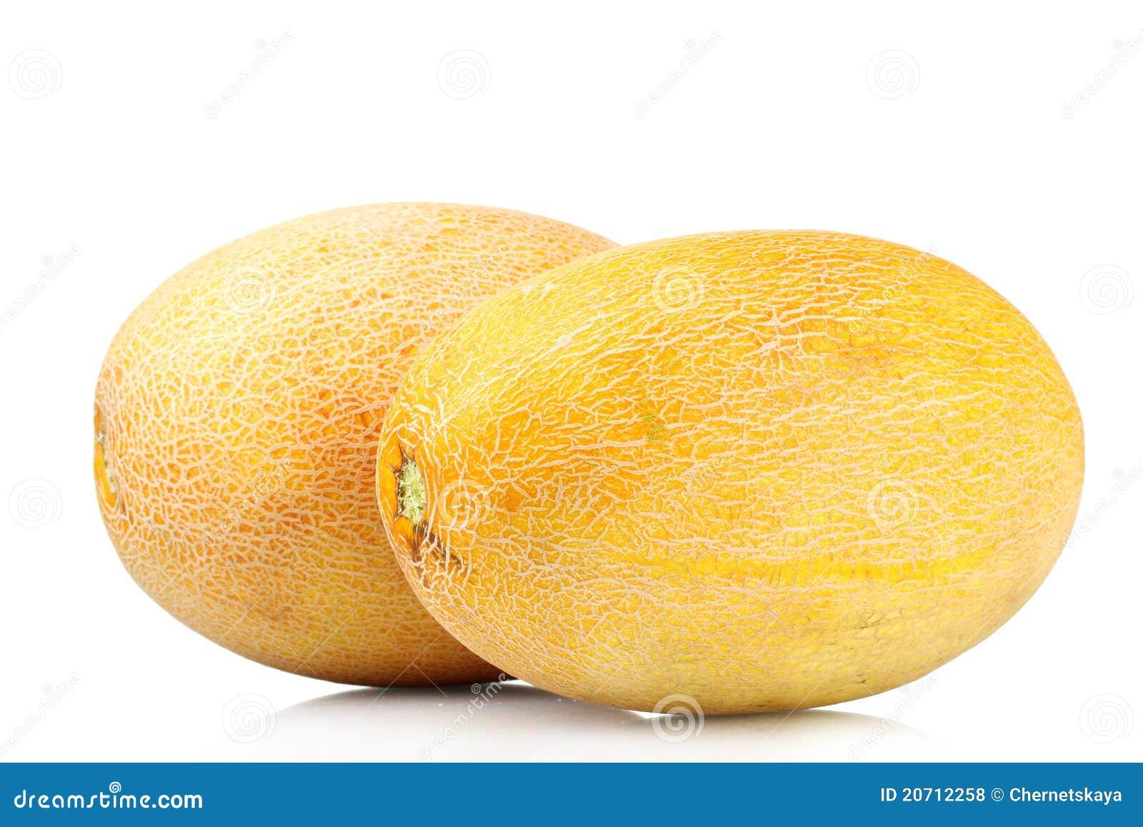 Zwei Schöne Melonen