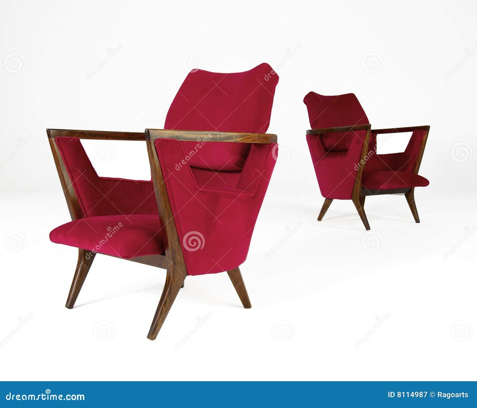 Zwei Rote Moderne Stuhle Redaktionelles Stockfotografie Bild Von Stuhle 8114987