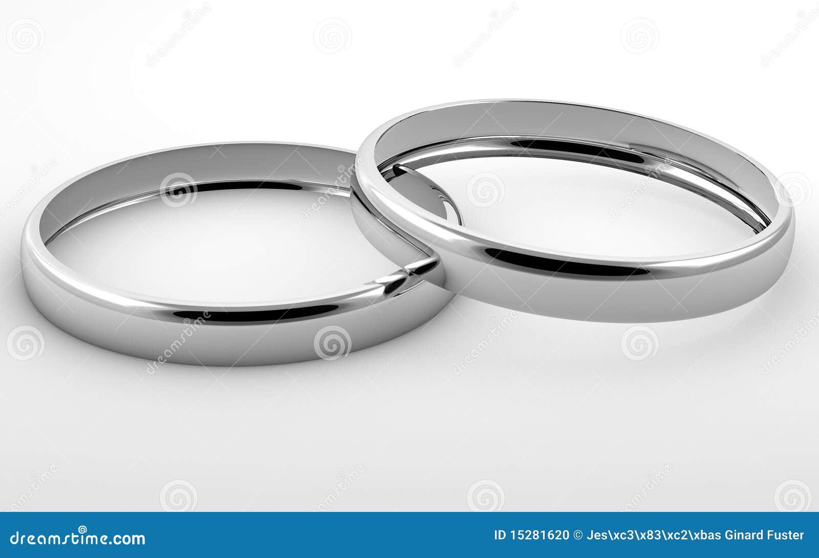 Zwei silberne Ringe