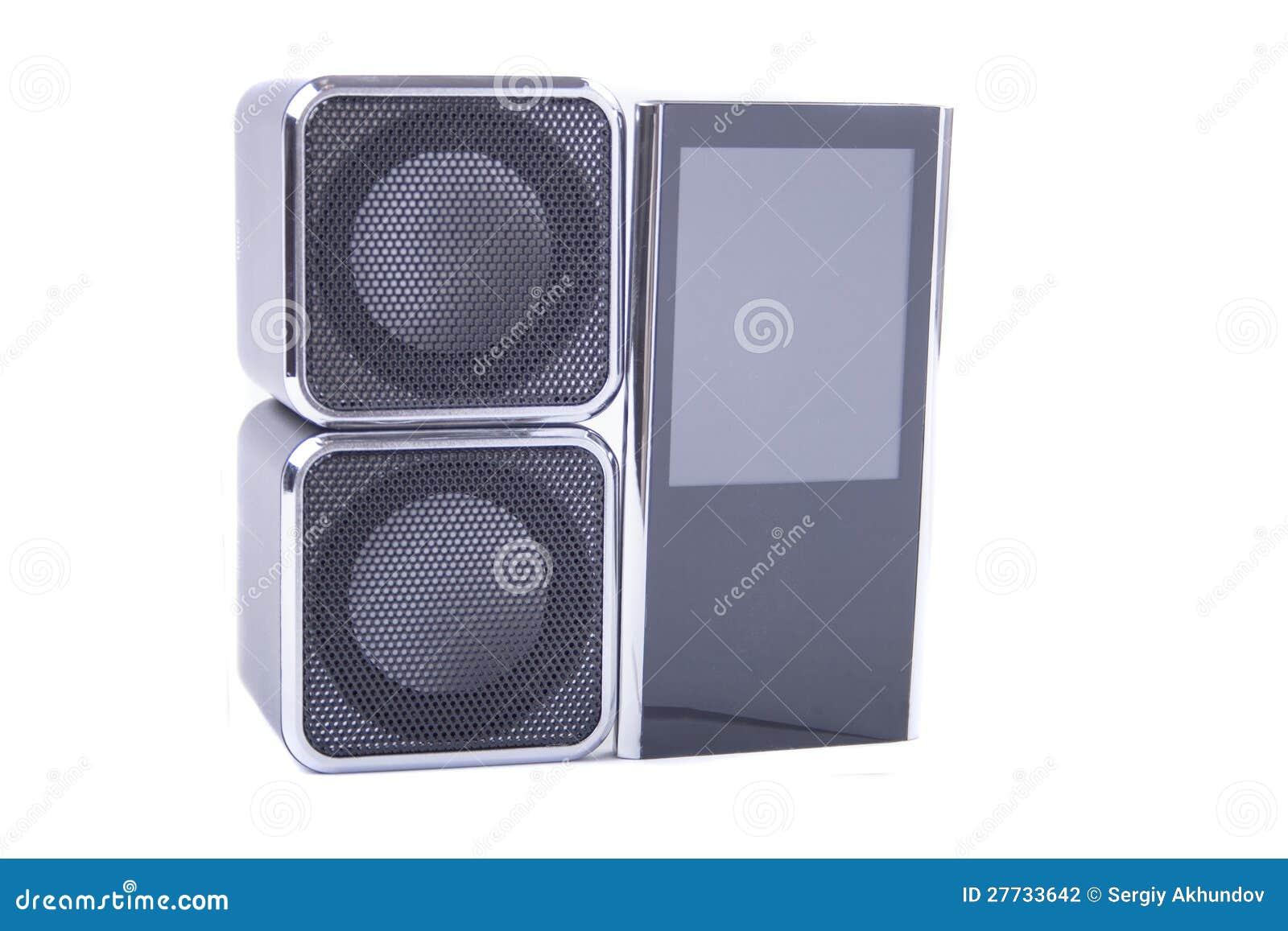 Zwei Sprecher und Spieler